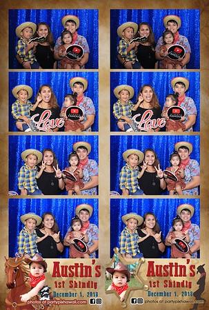 Austin's 1st Birthday (LED Dazzle Photo Booth)
