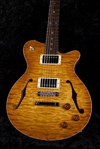 25th Anniversary DG-293 #ST-0233, Vintage Maple Burst,  Grosh H/H Pickups