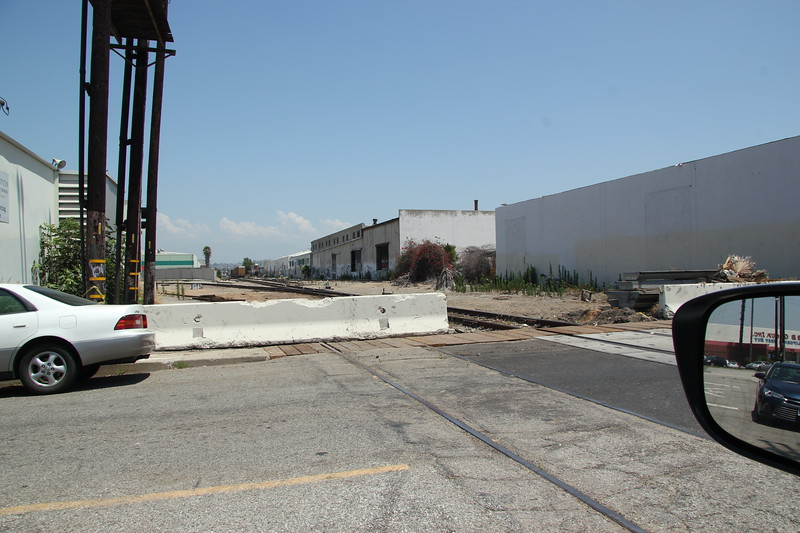BNSF side of Commerce