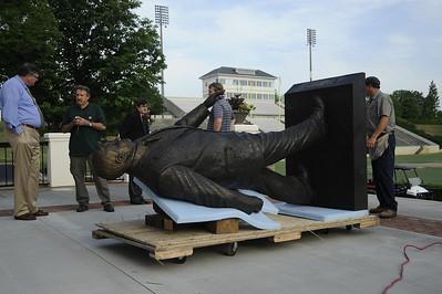 Statue Installation