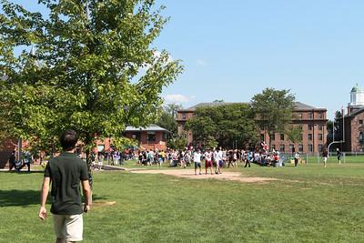 Wesleyan Student Fair / CHC Table 9/14/12