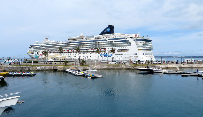 Our home for the week, the Norwegian Dawn