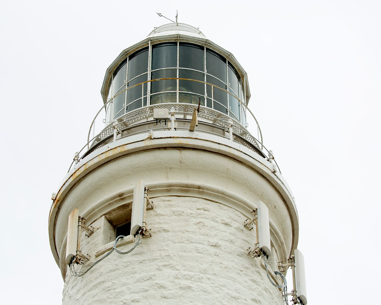The original Fresnel Lens is still visible in the lighthouse.