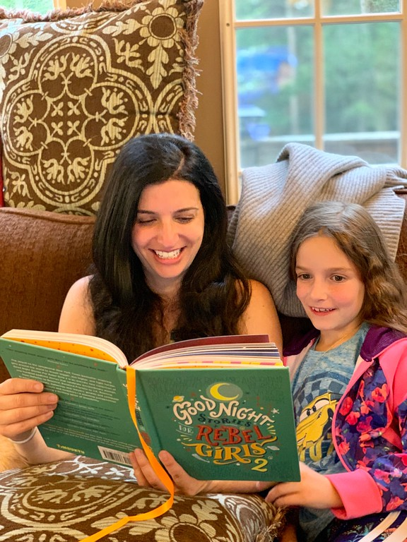 Check out Good Night Stories For Rebel Girls VOL 2 and see how it's one of many great ways to encourage your daughter to pursue greatness #ad #IC #stayrebel