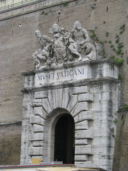 Old Entrance to Vatican Museum