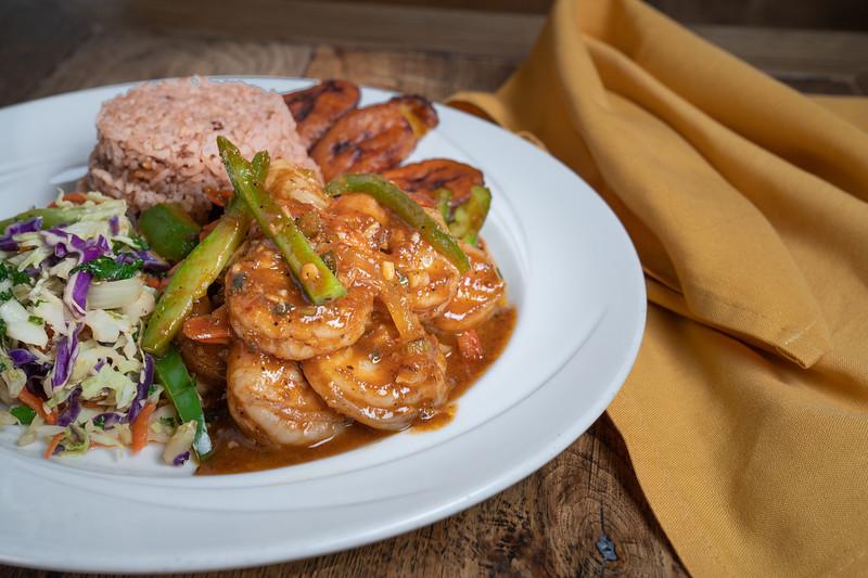 Shrimp - plated