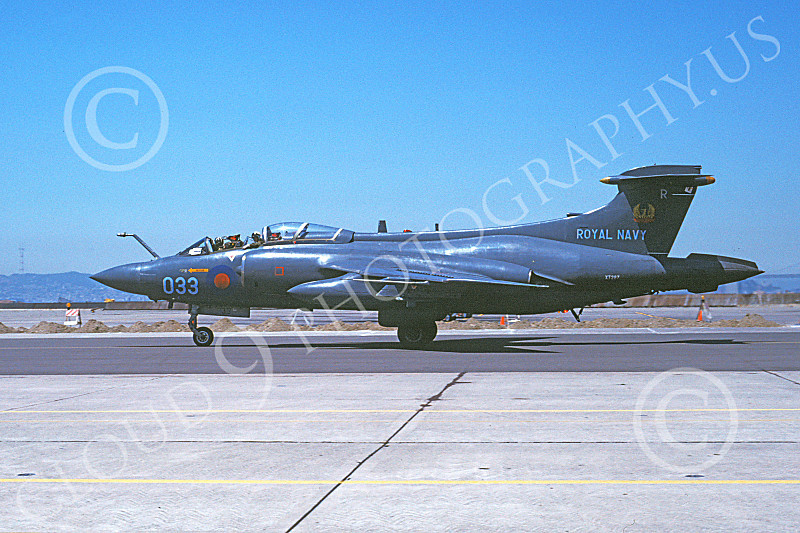 Hawker Siddeley Buccaneer 00015 A taxing Hawker Siddeley Buccaneer attack jet British Royal Navy NAS Alameda 7-1978 airplane picture by Michael Grove, Sr.JPG