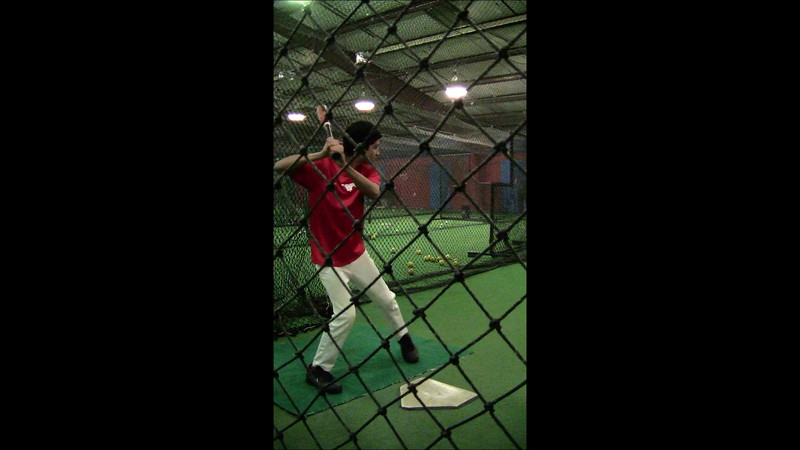 Houston Mustangs Batting Practice Video