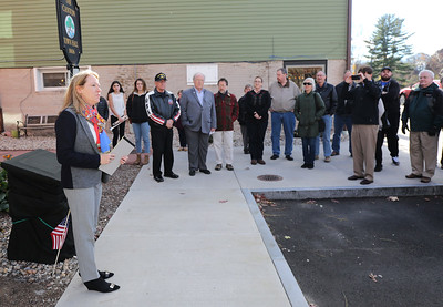 Canton Veterans Plaque Rededication