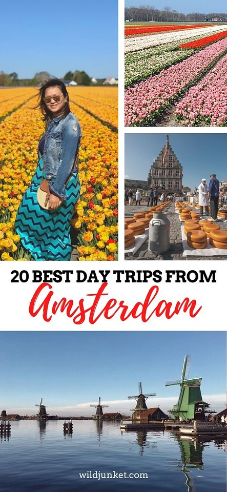 amsterdam day trips - weekend trips from amsterdam
