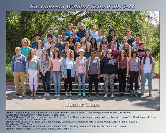 Sacramento Waldorf School Class Photos