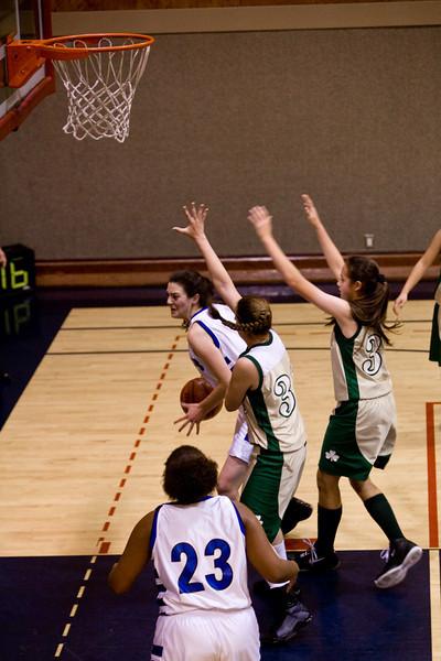 Basketball - Girls' Varsity vs. St. Lawrence - Dec 2, 2008