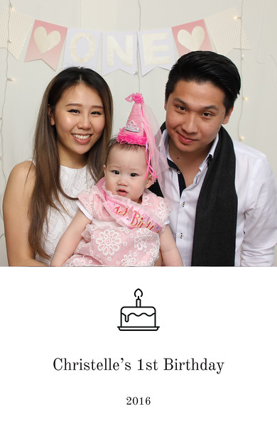 Christelle's 1st Birthday
