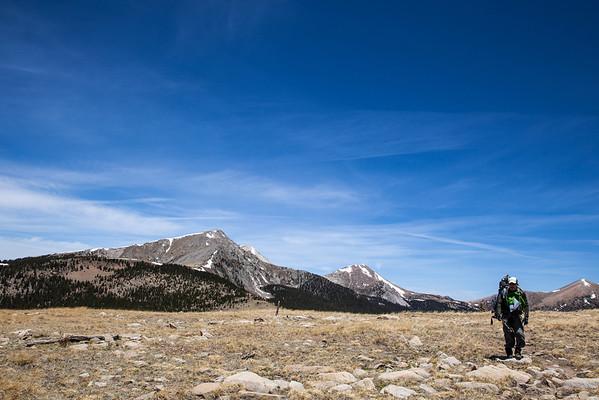 Pecos Skyline Backpacking Trip