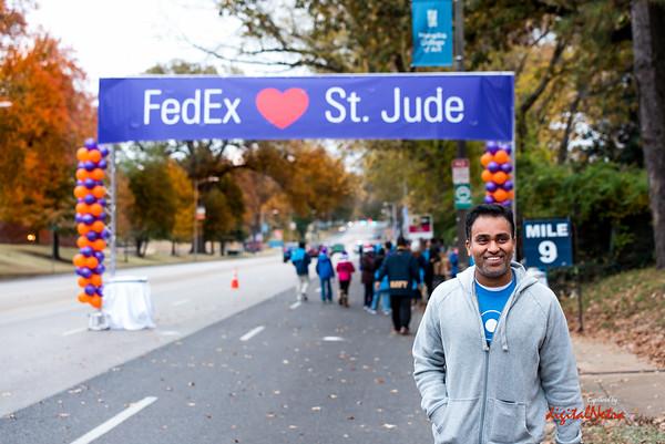 St. Jude Marathon - Hydration Station - 2016