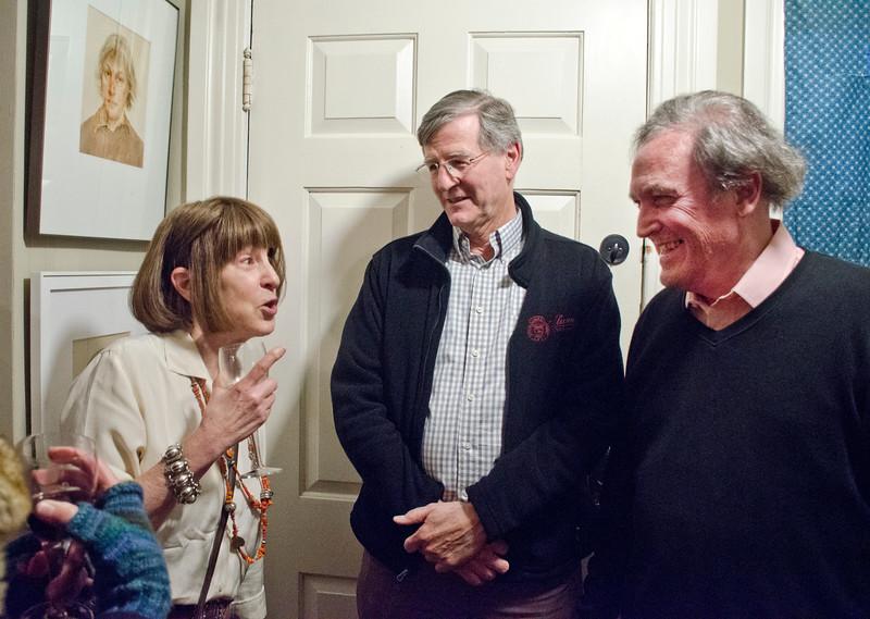 Birthday party at Robert Flynn Johnson [ Robert on right
