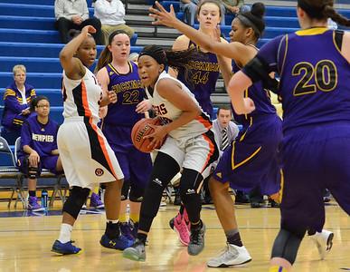 Basketball - Waynesville Girls 2015-16 - Hickman Sectionals