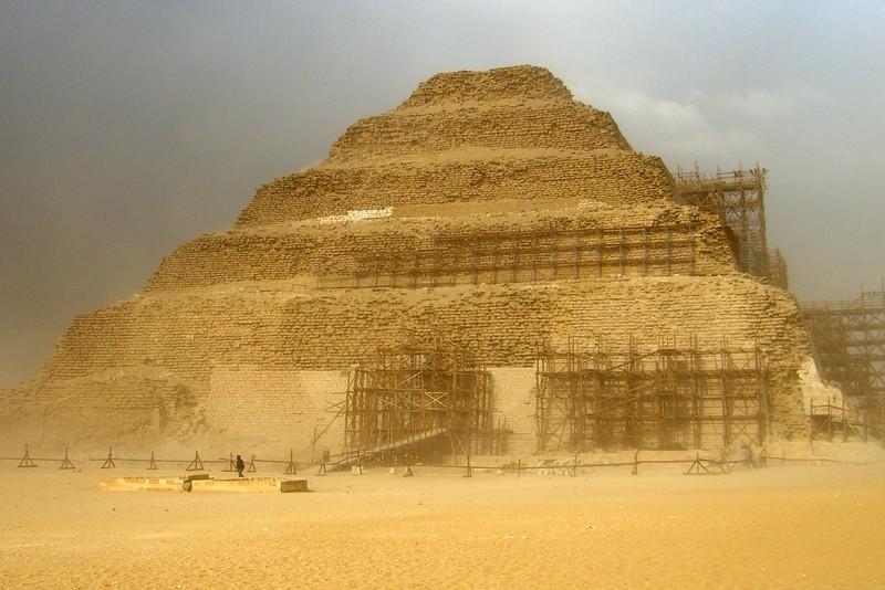 Step Pyramid in a Sandstorm - Henry Von Kohorn