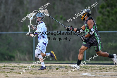 3.19 PRHS Men's Lacrosse vs. Charlotte Secondary