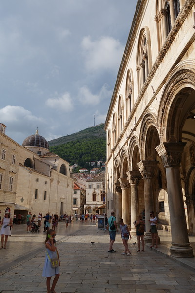 on Pred Dvorom in Dubrovnik