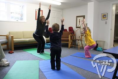 PUBLIC LIBRARY — fiddlehead yoga • kids — Eastham, MA 3 . 5 - 2011