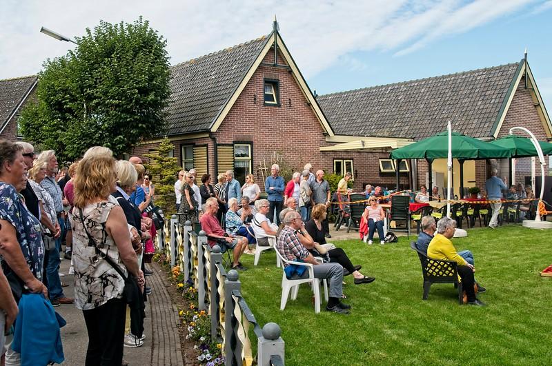 Muzikale Wandeling georganiseerd door Klaas  Vis Herbergh 't IJsselmeer.