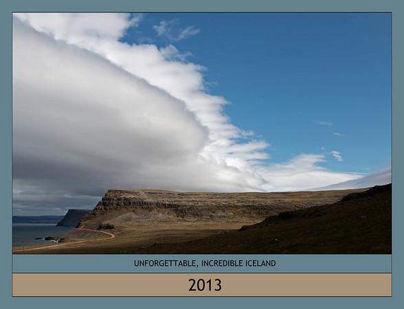 2013 Calendar of Iceland