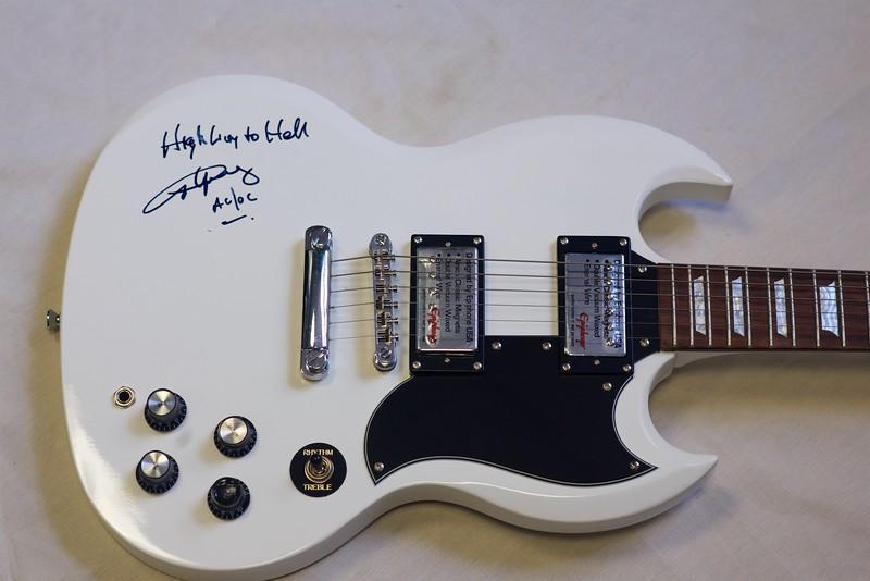 Iridium guitars