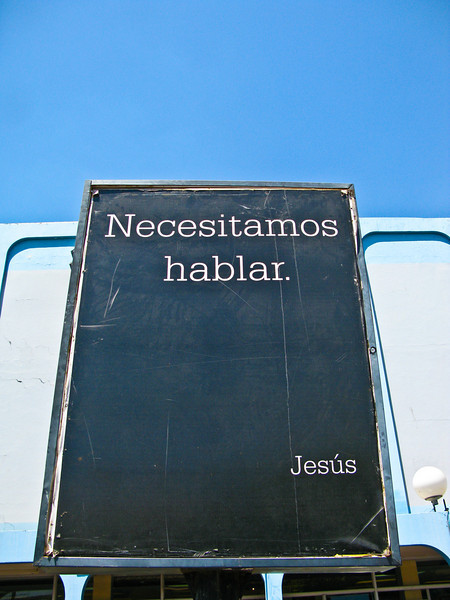 whats on your mind jesus?  Leon, Nicaragua