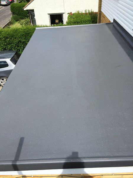 GRP Kitchen Roof - Grey