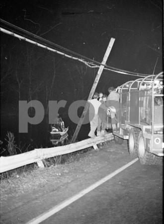 Eastport Fatal Car in Water, Montauk Hiway