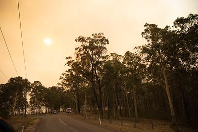 Bushfire - Pelaw Main - Dec 2019