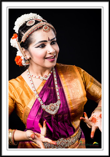 Srinidhi's Pre-Arangertam Portraits 2017