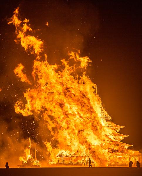 The Temple Burn