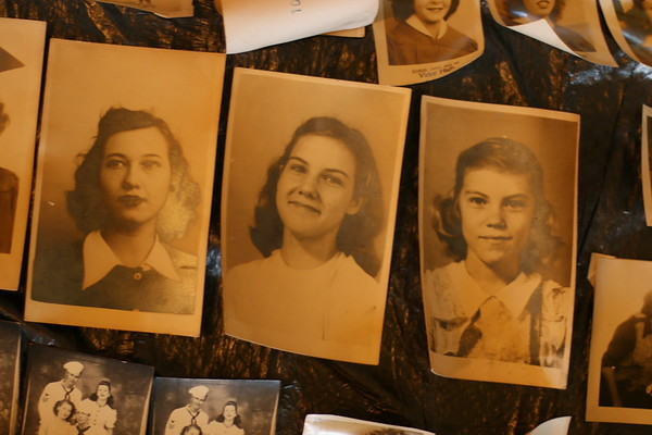 Betty's Photographs recovered from flood 2019