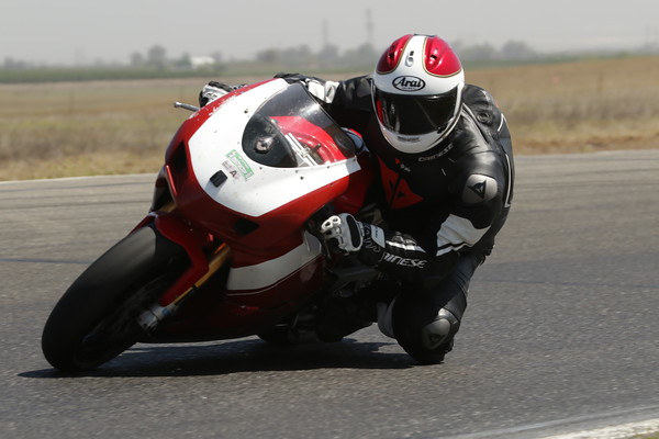 Duc where the helmet kinda matches the bike a little bit