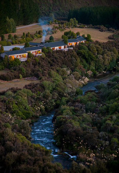 An overview of Poronui Lodge