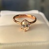 1.05ct Oval Cut Diamond Solitaire, GIA H SI1 29