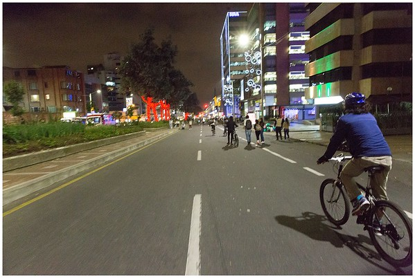 Noche Ciclovia 2016