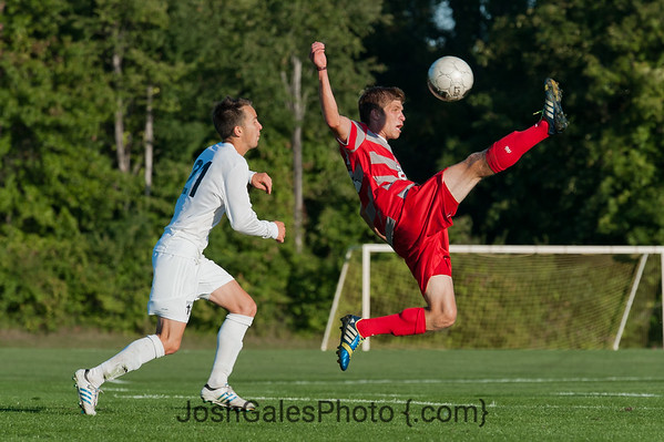 9/25/13 Men's Soccer at Grace