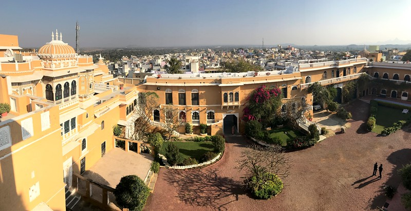 Another stay in a unique Heritage Hotel - the 350 year old Deogarh Mahal (Palace)