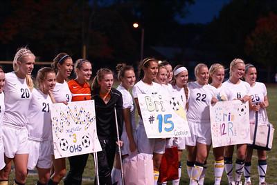 2010 Oakwood Girls Varsity Soccer vs Brookville