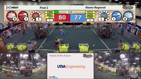 Alamo 2017 Match Video