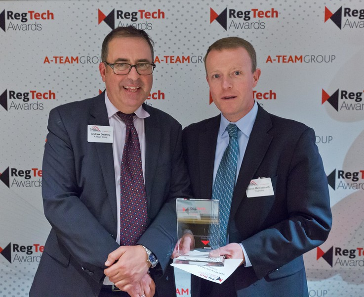 RegTech Award winner Best Voice And Mobile Messaging Solution Provider Aaron McCormack, Truphone