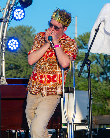 Cash Box Kings at Northwoods Blues Festival - 210618