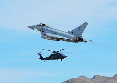 British Royal Air Force Typhoon