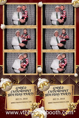 Photo Strips - 12/21/19 - GMH and Catamount Holiday Party