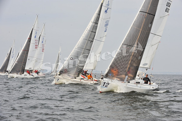 J/105 North Americans - Day 1