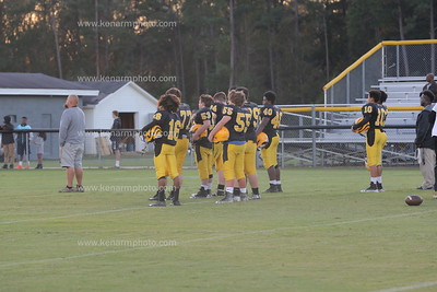 East Bladen vs James Kenan jv Football 2018