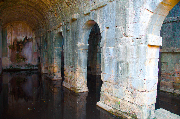 Roman Cisterns - Ancient City of Aptera